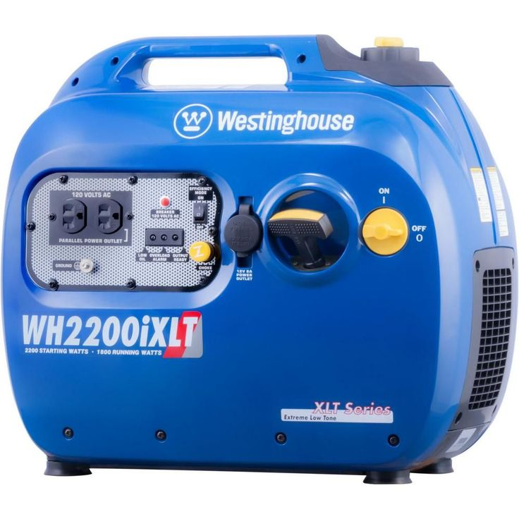 2200-Watt Gasoline Powered Digital Inverter Generator with Parallel Capabilities