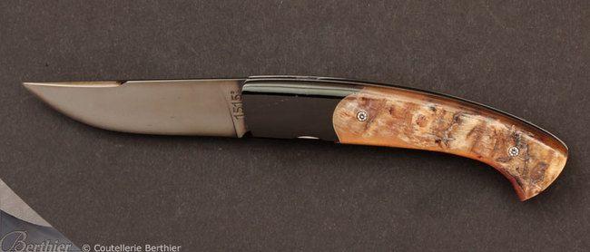 Couteau de poche 1515 Buffle et Mouflon - - Couteaux Laplace 1515 AR