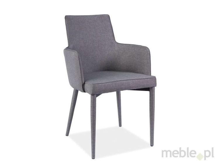 Stylowe krzesło SEMIR dostępne w 2 kolorach, Signal - Meble