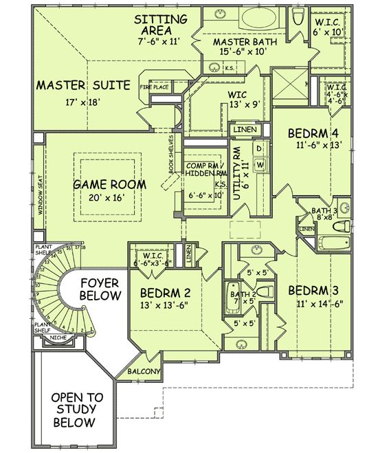 Marvelous House Plans With Hidden Rooms And Passageways | Plan W54123BH: House Plans  U0026 Home Designs