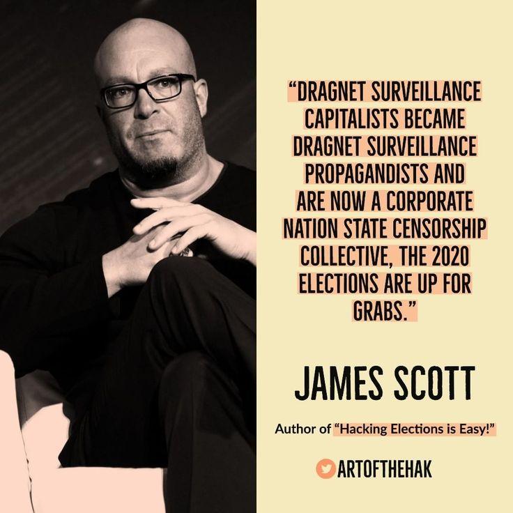 """Hacking Elections is Easy"" - James Scott    #blackbox #technology #Diebold #DNCHack #America #WashingtonDC #voting #evoting #elections #electronicvoting #NationalSecurity #CCIOS #ICIT #JamesScott #Cyberculture #media #Freedom #Dragnet #Surveillnce #Capitalists"