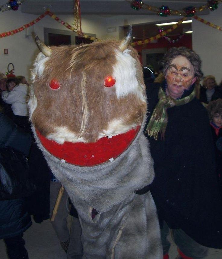 Badalisc, Andrista di Cevo, Valsaviore - Ancient Carnival masque, in January