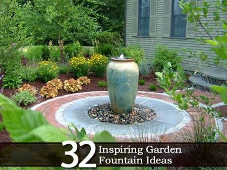 Garden Fountains Ideas diy bowl fountain 32 Inspiring Garden Fountain Ideas