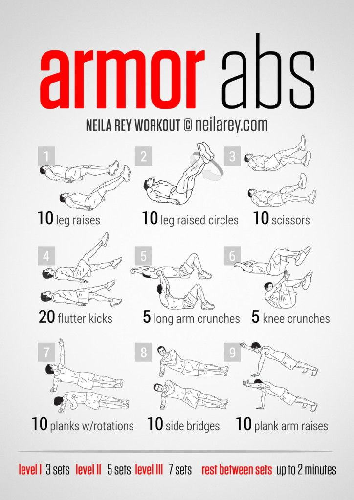 29 best Workout routines images on Pinterest | Exercise ...