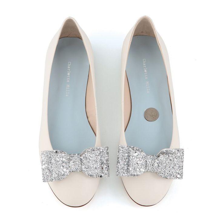 7 best Gorgeous Flat Bridal Shoes images on Pinterest | Flat bridal ...