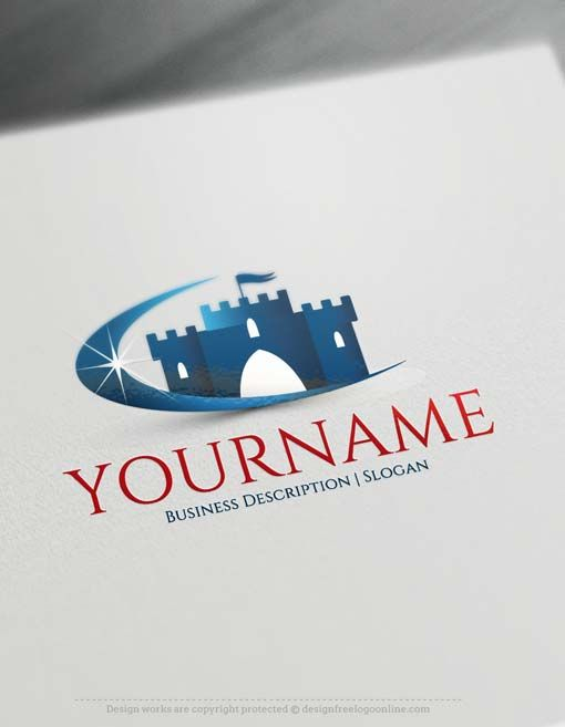 Online Free Logo Maker- Royal Castle logo design