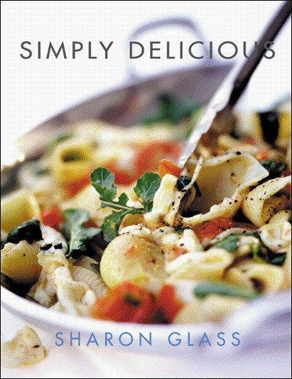 Simply Delicious by Sharon Glass. Out of print. #SharonGlass #cooking