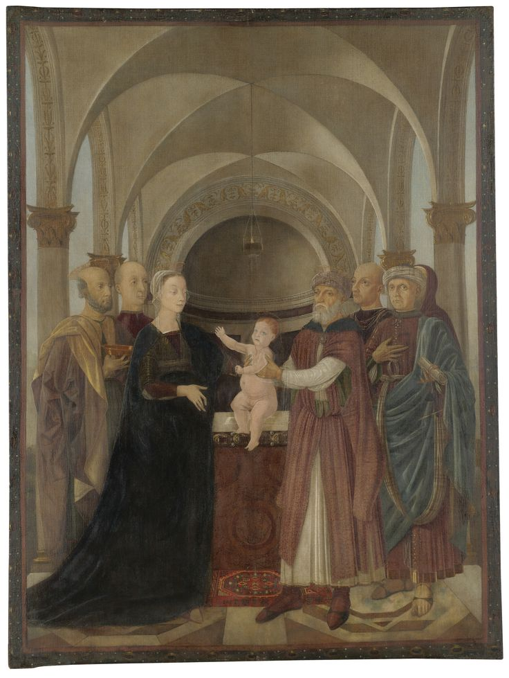 Luca Signorelli | A PROCESSIONAL BANNER: THE PRESENTATION IN THE TEMPLE | Sotheby's