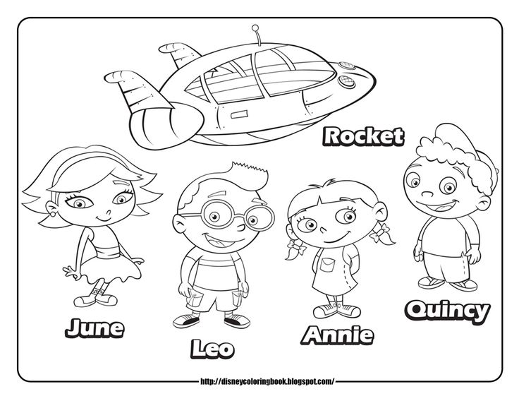 Download Little Einsteins Coloring Pages