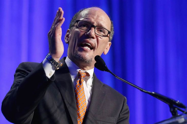 Democratic National Committee Chairman Tom Perez has launched a major reorganization of the party, which has been battered by recent crises, and the DNC has requested that resignation letters of all current staffers be submitted by next month. Perez is interviewing staff and others as part of a review process to decide who will stay and how the party should be structured in the future.