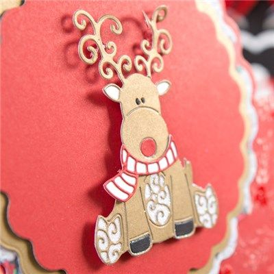 Tattered Lace Little Monsters Die - Baby Reindeer