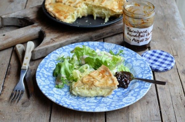 Lavender and Lovage   Say Cheese! Cheese, Onion and Potato Pie Recipe for British Pie Week   http://www.lavenderandlovage.com
