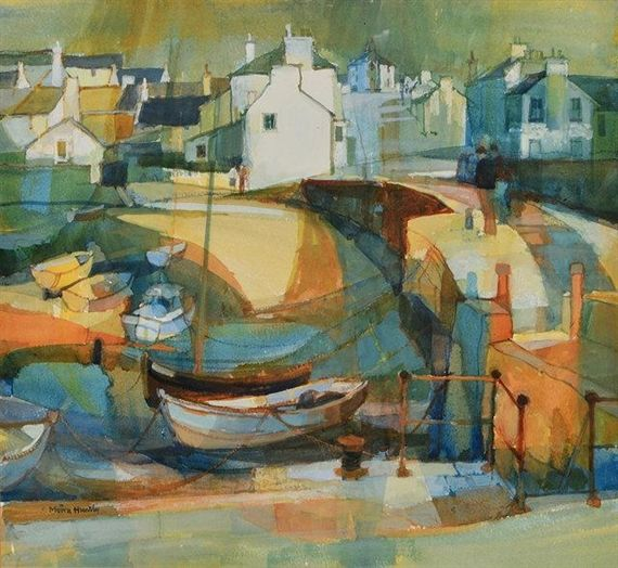 Moira Huntly, Banffshire Harbour