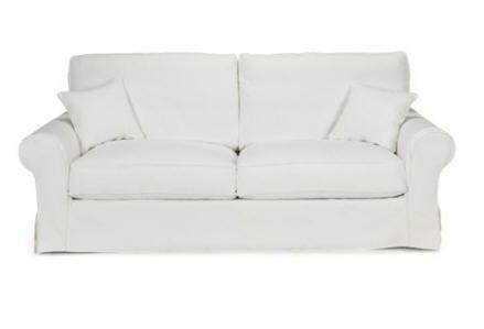Soldes Canapé Alinea promo canapé fixe, achat Canapé 3 places fixe Regency blanc déhoussable prix Soldes Alinea 719.00 € TTC au lieu de 899....