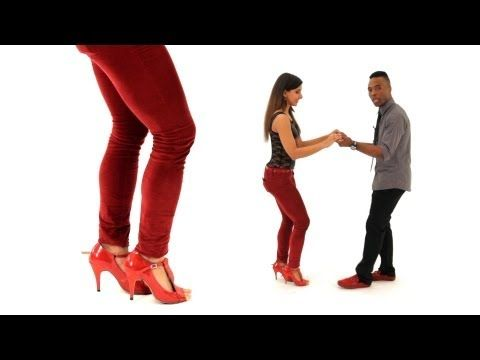 Bachata Basic with a Kick Shuffle | Bachata Dance - YouTube