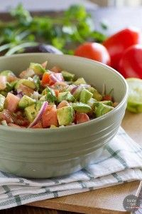 Avocado and Tomato Salad - Taste and Tell