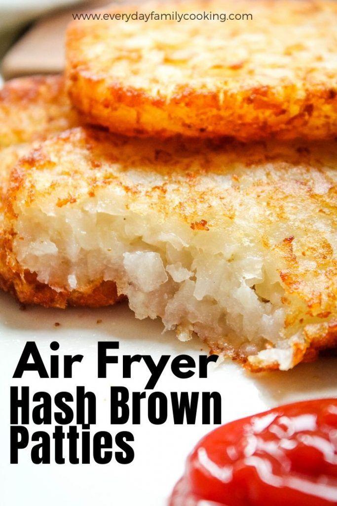 Air Fryer Frozen Hash Brown Patties Recipe in 2020