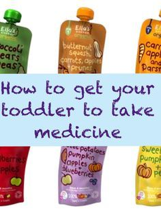 How to Get Your Toddler to Take Medicine #children #medicine