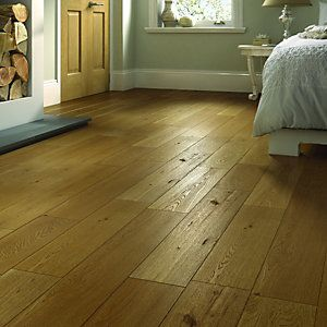 Wickes Dusky Oak Solid Wood Flooring