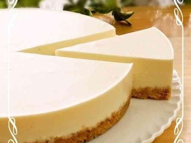 濃厚☆簡単☆レアチーズケーキ(プレーン)の画像