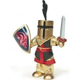 Le toy van Sir Ingot de commandant. Hij lijdt het koninklijk leger.