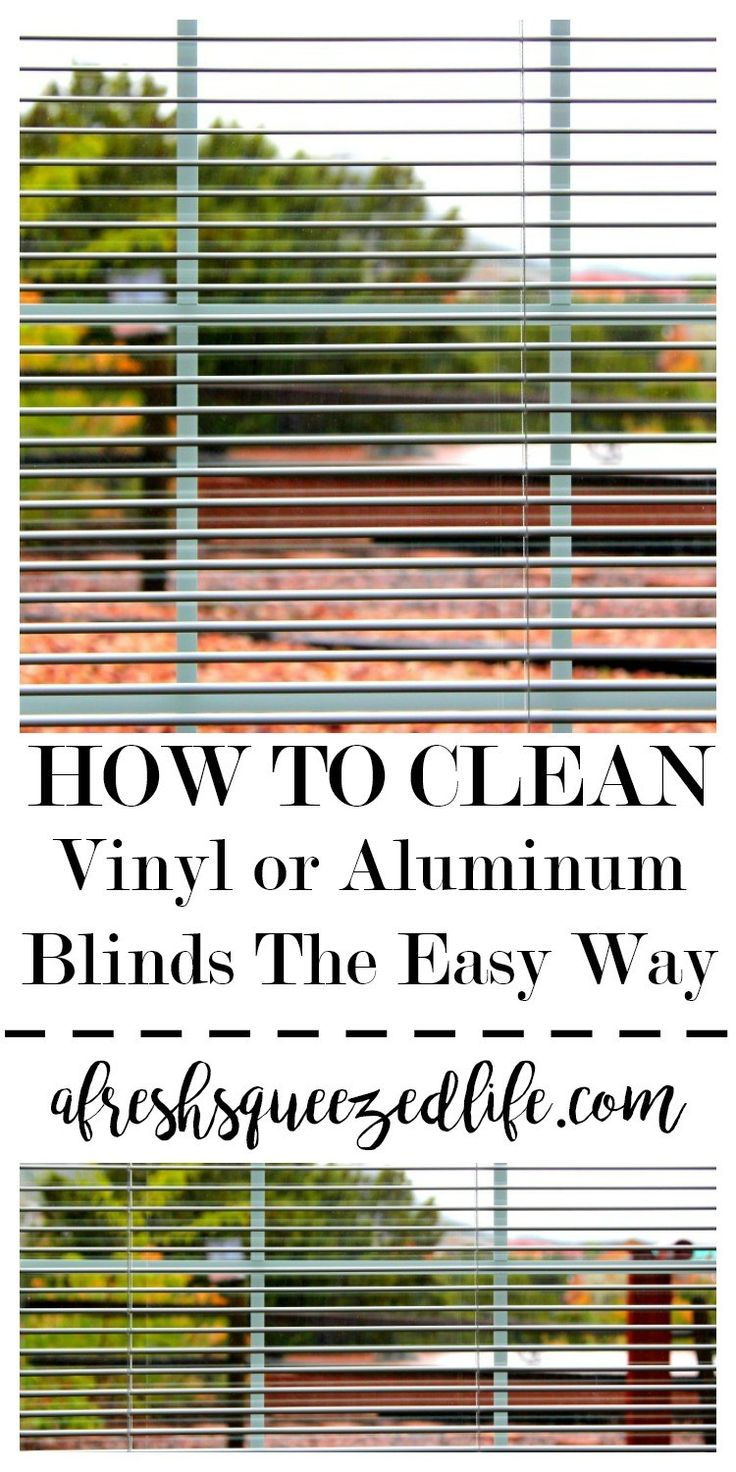 Spring Cleaning time is here!  Let me show you an easy way to clean your blinds outside (or in the bathtub).  You will be surprised at how great they look!  HOW TO CLEAN BLINDS: VINYL OR ALUMINUM