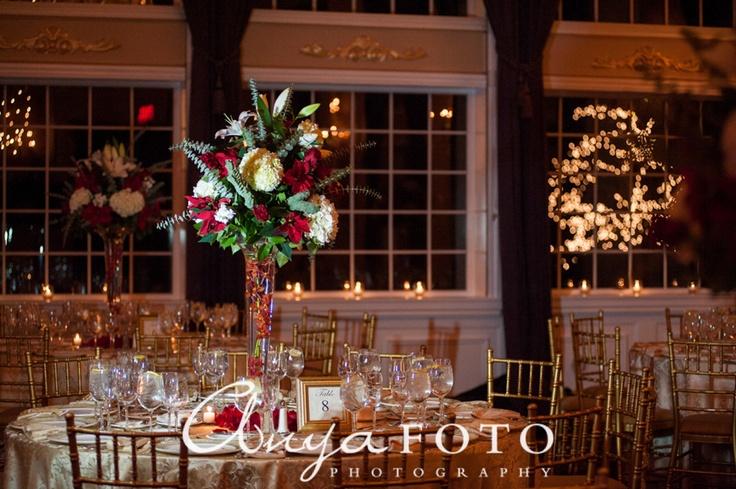 www.anyafoto.com Wedding Flowers, red wedding flowers