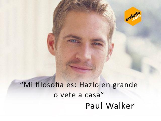 Pin De Rosita Rosero En Paul Walker Paul Walker Frases Y