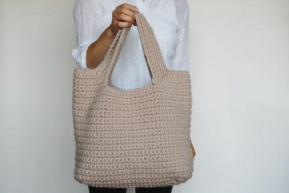 Sac au crochet #bolso #crochet #bordar #vigo #talleres