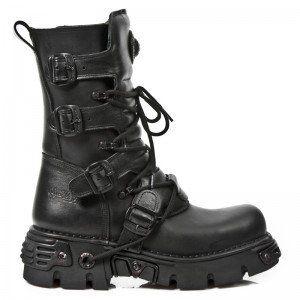 All black NewRock boots!!! *drool*