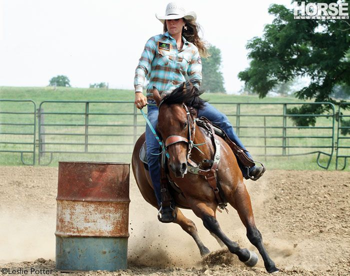 Champion barrel racer Fallon Taylor offers tips to make your first turn your best.