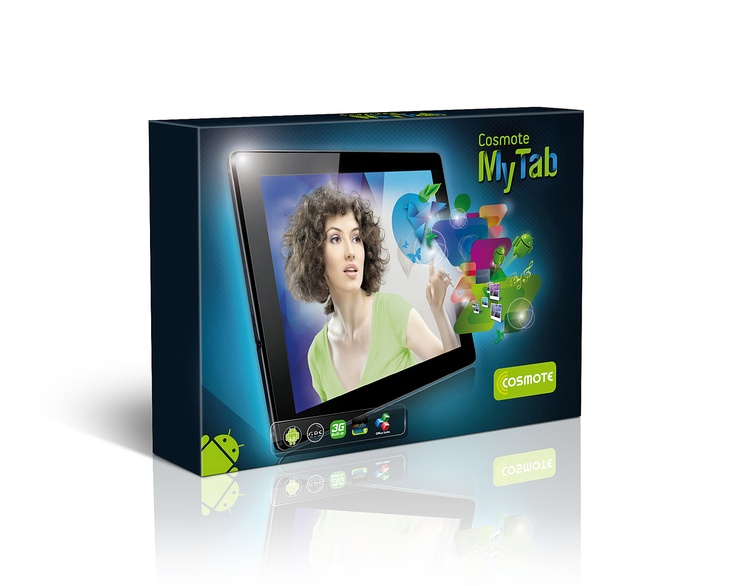 packaging - Cosmote My Tab