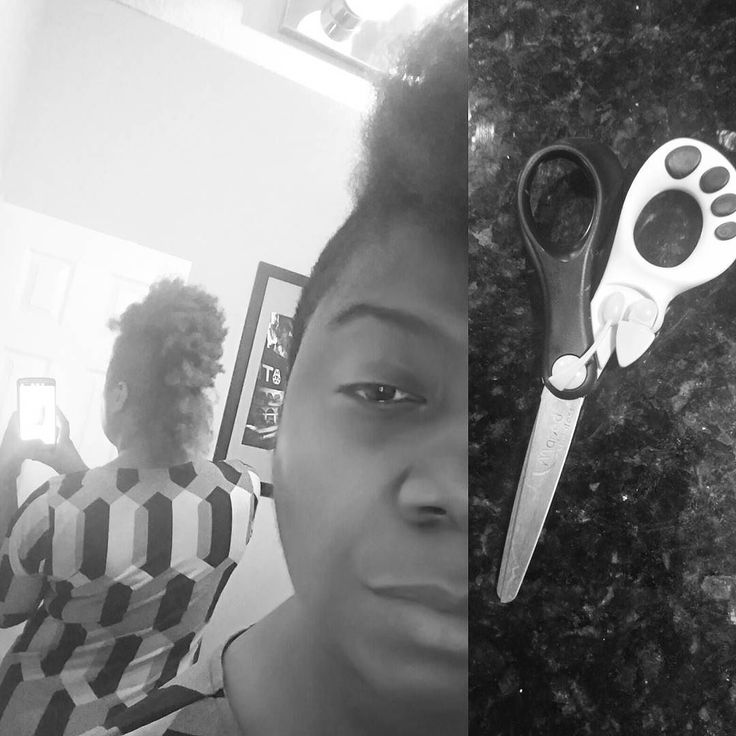 When I was in my 20's I used to #cry uncontrollably when people cut my hair. I considered the cutting of my crown a personal affront because my Mom (RIP) had screwed over my head for a decade. Then when I went natural....I still used to cry. And letting DR(s) who hate afro hair mess around in my head didn't help. I was always having a gotdamn #hair emergency. And my hair is always the barometer for my life. Stressed out. Hair falling out in clumps. Failing marriage... Hair not growing…