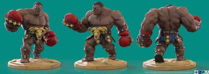 Street Fighter - Balrog - Cestus Gladiator by PioPauloSantana