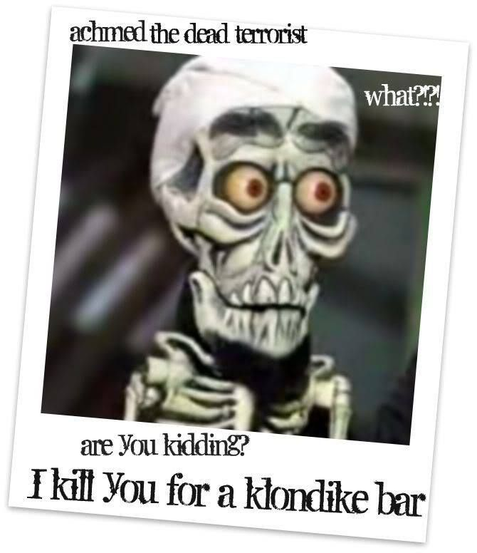 130 best jeff dunham peanut walter quotes images on for Achmed the dead terrorist halloween decoration