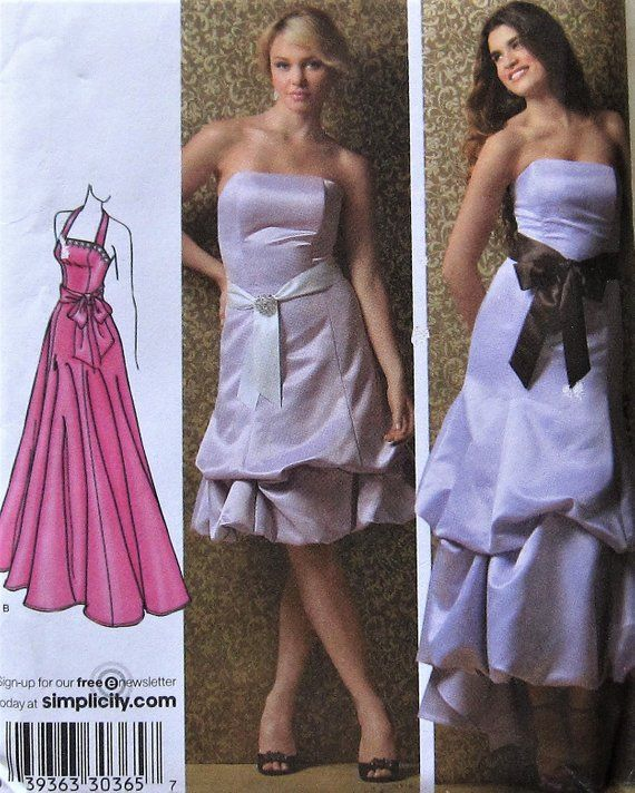dress and gown sewing
