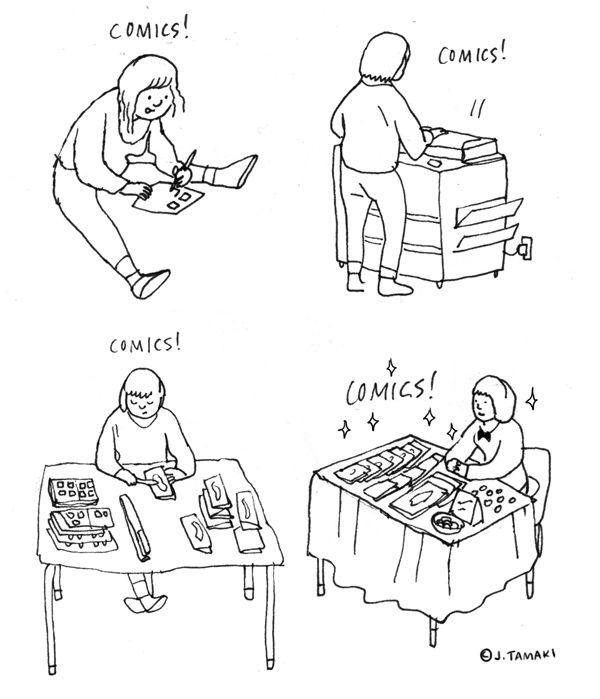 Webcomic Zine DIY Comic Tutorial How To
