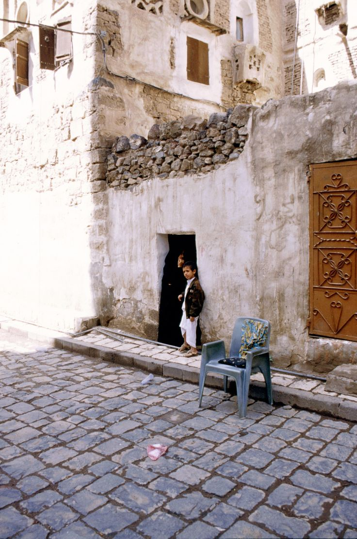 Sana'a, Yemen Aug. 2000