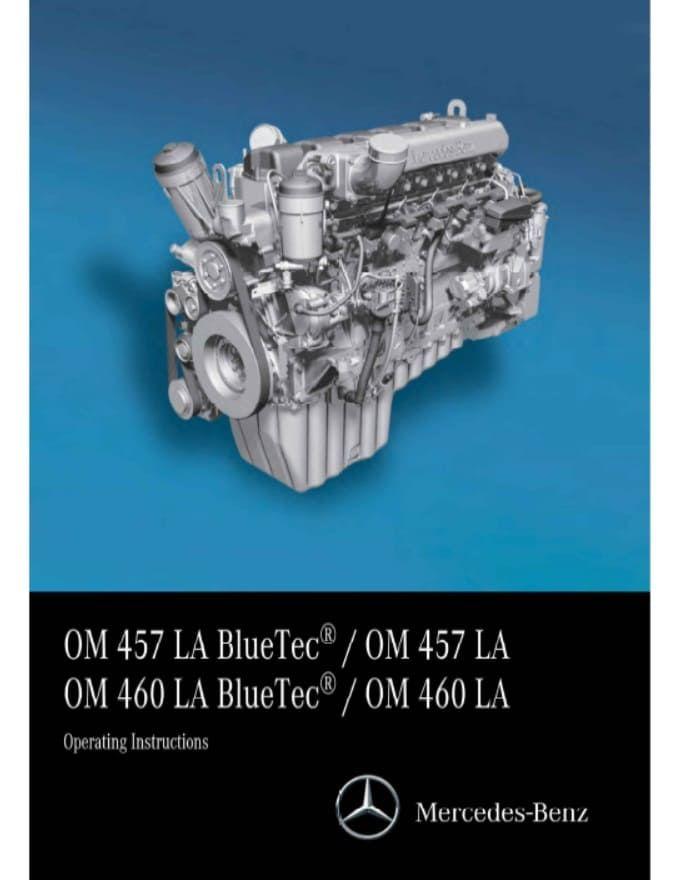 Mercedes Benz Om457 Engine Service Repair Manual Pdf Repair Manuals Mercedes Mercedes Benz
