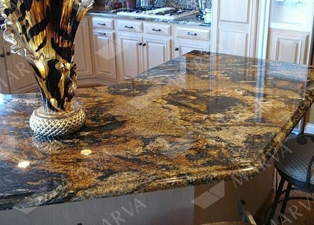 How Much Is My House Worth Gold Granite Countertops Granite Countertops Kitchen Granite Kitchen