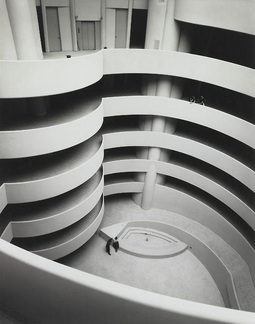The Guggenheim, Almost Empty, c. 1959 — Ezra Stoller