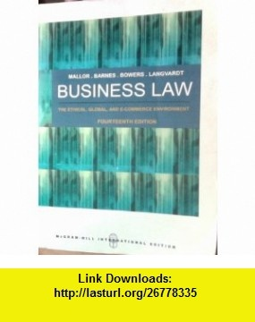 8 best ebooks pdf images on pinterest pdf author and sign writer business law the ethical global and e commerce envirement mcgraw hill international fandeluxe Choice Image