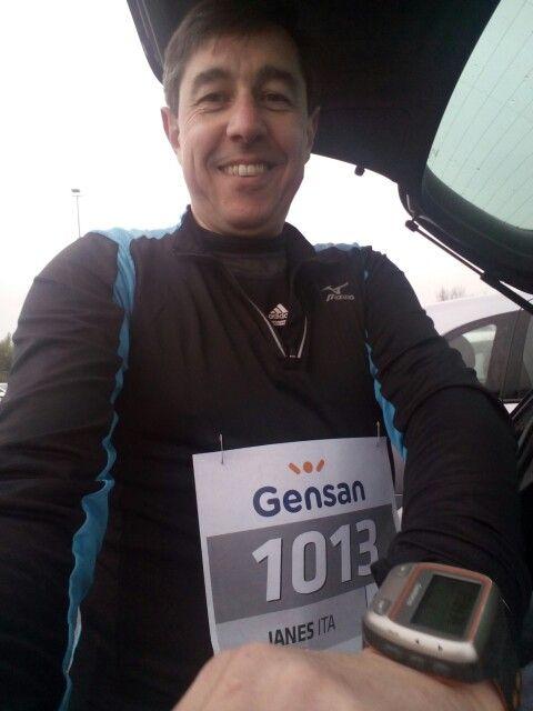 Verona halfmarathon.
