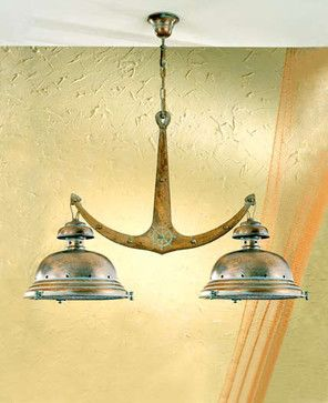 Fredeco Nautical Island Light - tropical - kitchen lighting and cabinet lighting - Fredeco Lighting