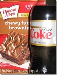 PinBusting - diet coke brownies - BAD recipe according to this site. Read it. Very interesting!