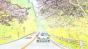"New artwork for sale! - "" Subaru Brz Subaru Brz Subaru by PixBreak Art "" - http://ift.tt/2m4PEyb"