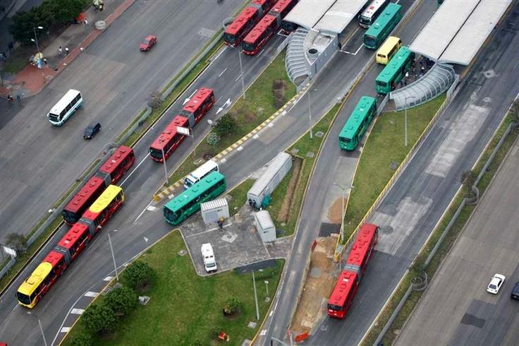 TransMilenio cambio la cara de nuestra ciudad.