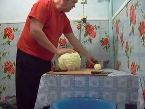необычная заготовка капусты на зиму