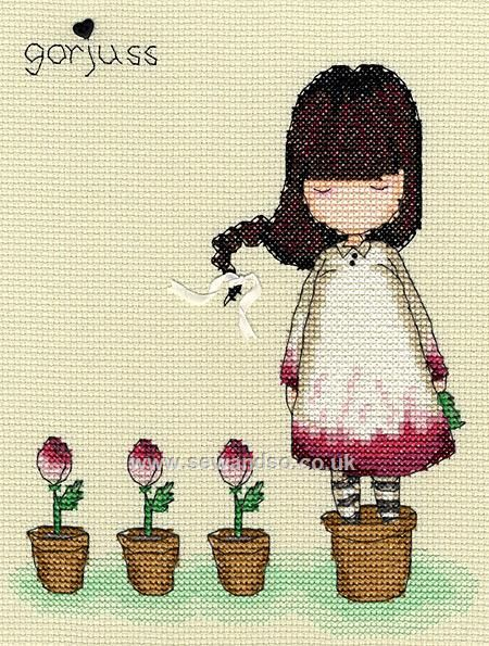 Buy The Last Rose Cross Stitch Kit Online at www.sewandso.co.uk