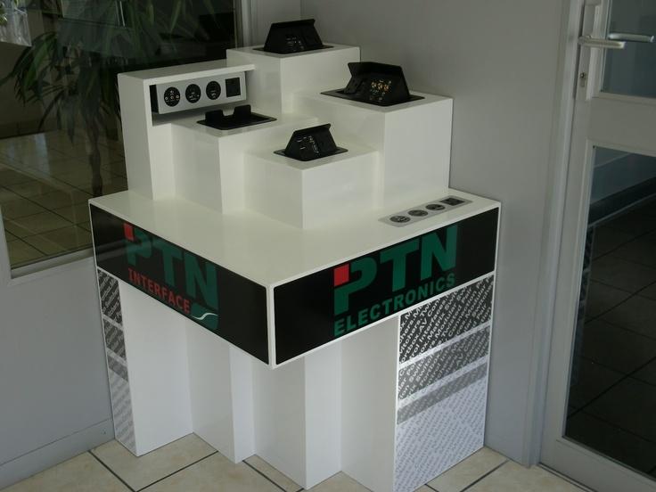 PTN AV Connection Panels on display
